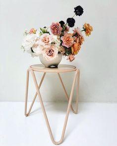 Bridal Flowers Bouquet Elegant 37 Ideas For 2019 Wedding Table Flowers, Bridal Flowers, Floral Wedding, Elegant Flowers, Pretty Flowers, Purple Flowers, Floral Centerpieces, Floral Arrangements, Wedding Centrepieces