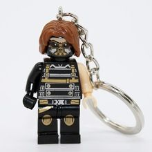 XINH039 Winter Soldier Minifigure Marvel Super Heroes Minifigures Keychain Keychain DIY Handmade Building Blocks Sets Model Toys //Price: $US $12.49 & FREE Shipping //    #civilwar #thor #hulk #antman #marvel