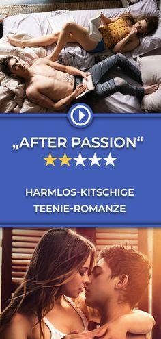 """Die Verfilmung des erfolgreichen Jugendromans """"After Passion"""" ist vor allem eines: definitiv jugendfrei! Die ganze Kritik gibt's auf filmstarts.de! Shades Of Grey, After, Passion, Movies, Movie Posters, Movie, Young Adults, Guys, Films"""