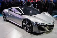 Acura's bringin' back the NSX. 2012 just got a little harder.