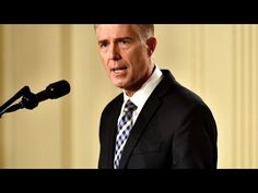 Neil Gorsuch nominated by Donald Trump to fill vacant supreme court seat — the guardian (RSS) Judicial Review, Trump Comments, Us Supreme Court, Court Judge, Political Views, In High School, Cbs News, Fake News, The Guardian