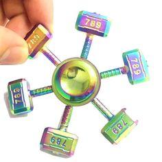 ECUBEE Spinner Hammer Shape Spinner Fidget Spinner Hand Spinner Reduce Stress  EDC  Gadget