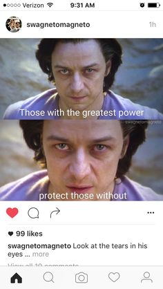 Charles Xavier's message to the world
