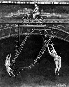The Learny Revolving Trapeze at the Olympia Music Hall. Scientific American, 25 January, 1896