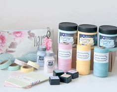 Inspirational women's magazines, gift subscriptions, and DIY projects to boost your creativity. Now trending: mixed-media, homemade bath and body, mindfulness. Paper Craft Supplies, Art Supplies, Colour Pallette, Palette, Subscription Gifts, Milk Paint, Twine, Bath And Body, Mixed Media