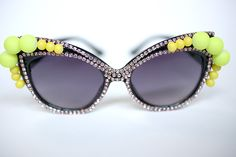 #DIY A Morir Embellished Sunglasses with Sunglass Warehouse