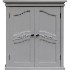 white bathroom wall cabinets. Fine Bathroom Elegant Home Fashions Somerset Wall Cabinet White Gray In White Bathroom Cabinets