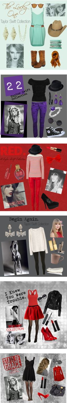 """""""Taylor Swift Style Collection"""" by luckydunn on Polyvore"""