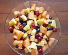 Fruit Salad with Grappa