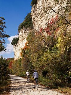 Missouri: Katy Trail ~ Only minutes from my home, yet so many miles long. I really need to explore more of the trail.