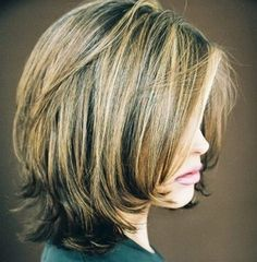 30 Best Bob Hairstyles for Short Hair Shoulder Length Bob Styles The attractive bob has subtle layers cut around the sides and back to add shape to the length that is kept simple and solid to sit at the shoulders. This is perfect for people with fine to m Medium Hair Styles, Short Hair Styles, Bob Styles, Shoulder Length Layered Hair, Shoulder Hair, Hair Cuts Shoulder Length Face Shapes, Medium Length Hair With Layers And Side Bangs, Layered Bob Hairstyles, Trendy Hairstyles