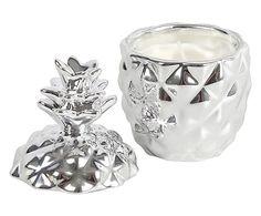 """Świecznik """"Pineapple Silver"""", Ø 6, wys. 11 cm"""