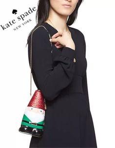 Kate Spade NEW York Blaze A Trail Gnome Clutch Purse crossbody bag Christmas pxru6097  | eBay Nordstrom #katespade
