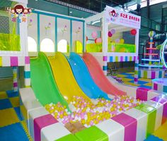 lefunland indoor playground equipment Slides  www.lefunland.com