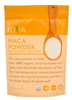 Amazon.com: Kiva Organic Maca Powder - Non-GMO, Raw, Vegan, 16-Ounce Pouch: $42.80 on Prime Use the BEST Organic Gelatinized Maca Powder to increase energy, vitality and longevity. Use Maca to make a super energy drink. Organic Maca Powder is well known to increase libido for women, fertility, sexual wellness and sexual enhancement. Gelatinized Maca Root Powder counteracts physical fatigue and is favored among athletes and health enthusiasts for its energy boosting and recuperating…
