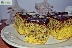 Pyszne i łatwe ciacho :)) Składniki: 2,5 szklanki mąki pszennej 6 jajek 250 g margaryny 3 łyżeczki proszku do pieczenia 1 szk...