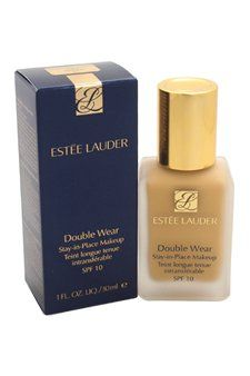 Estee Lauder Double Wear Stay-in-Place Makeup SPF 10 for All Skin Types, No. 84 Rattan (2w2), 1 Ounce. It is a 15-hour staying power. Flawless all day. This worry-free, long-wearing makeup stays fresh and looks natural through heat, humidity, nonstop activity.