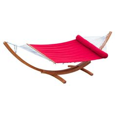 Oberlin Hammock with Stand in Jockey Red  at Joss and Main