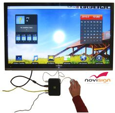 NoviSign Android Digital Signage is a solution to create digital signage on any Android device – Tablets, TV Boxes, smartphones and smartTVs.