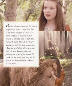 Exactly my reaction. I don't need to be told it's Aslan or not. I just know...