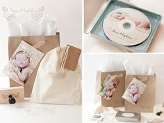 Packaging Design Ideas for Photographers // Pretty Little Packaging » Phoenix, Scottsdale, Chandler, Gilbert Maternity, Newborn, Child, Family and Senior Photographer |Laura Winslow Photography {phoenix's modern photographer}