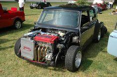 Mini with a Honda Vtek motor turbo Mini Morris, Mini Copper, Microcar, Mini One, Modified Cars, Classic Mini, Amazing Cars, Custom Cars, Cool Cars