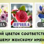 Какой цветок соответствует вашему женскому имени?