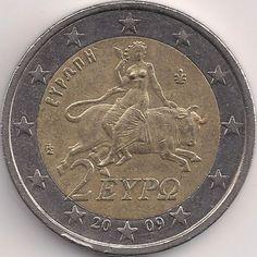 Motivseite: Münze-Europa-Südosteuropa-Griechenland-Euro-2.00-2007-2015