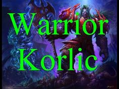 Русский World of Warcraft: Warrior Korlic PVP, Classic WOW