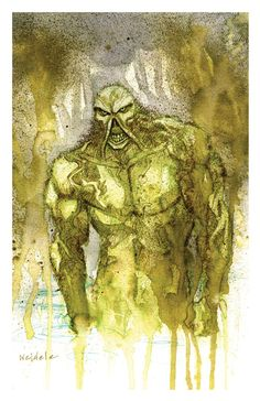 SWAMP Thing art print 11x17 BRETT WELDELE