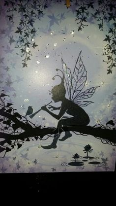 Lavinia stamp sky Lavinia Stamps Cards, Atc Cards, Elfen Fantasy, Fairy Silhouette, Kobold, Fairy Pictures, Beautiful Fairies, Love Fairy, Tampons