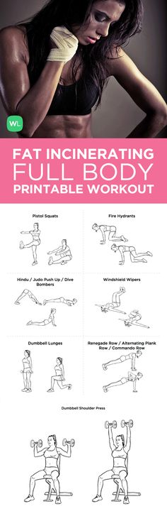 Visit http://workoutlabs.com/workout-plans/the-fat-incinerating-15-minute-dumbbell-workout-for-weight-loss/ for a FREE PDF of this 15-minute Fat Incinerating Dumbbell printable workout with easy-to-follow exercise illustrations.