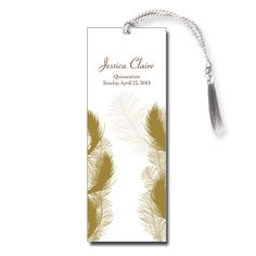 Angelic Quince Quinceanera Bookmark