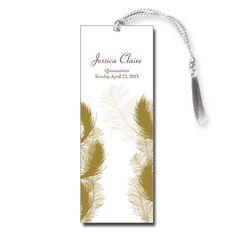 Angelic Quince Quinceanera Bookmark