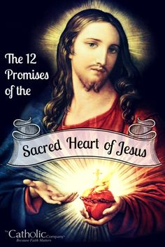 The 12 Promises of the Sacred Heart of Jesus