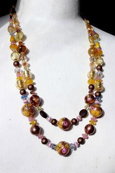 Colliers vénitiens de collection Jaune d'or