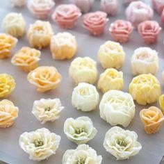 - Flower palette - #flowercake #flowercakeclass #mydearcake #mydear #korea…