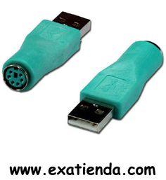 Ya disponible Conversor USB a ps2   (por sólo 9.95 € IVA incluído):    -Conversor de USB a PS2 Garantía de 24 meses.  http://www.exabyteinformatica.com/tienda/70-conversor-usb-a-ps2 #adaptadores #exabyteinformatica