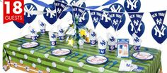 yankees birthday party | ... Party Supplies http://www.partycity.com/product/new+york+yankees+party