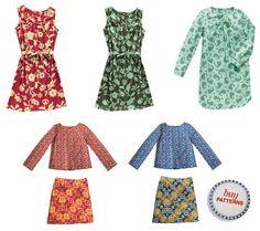 Lisette fabric plus patterns - love it!