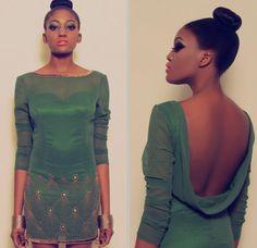 Face2FaceAfrica :: Fashion :: Virgos Lounge Peacock Look Book