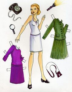 Another Nancy Drew paper doll