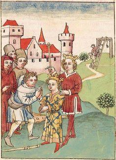 Antonius <von Pforr> Buch der Beispiele der alten Weisen — Oberschwaben, um 1475 Cod. Pal. germ. 466 Folio 262r