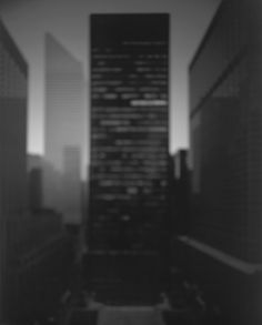 Hiroshi Sugimoto, Seagram Building, 1997. Courtesy: Gallery Koyanagi