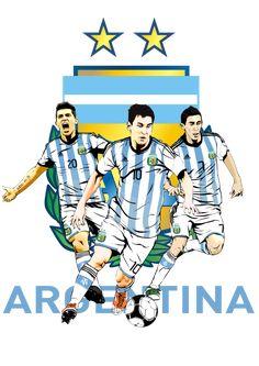 Argentina World Cup 2014 Time Da Argentina, Argentina World Cup, Messi Soccer, Soccer Fans, Soccer Players, Argentina Football Team, Argentina Team, Lionel Messi, Fifa