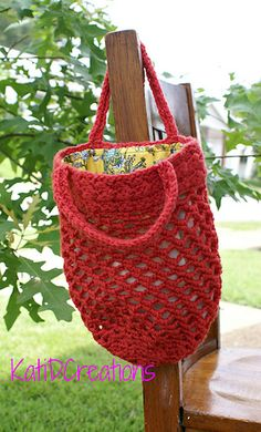 To Market We Go free crochet pattern by KatiDCreations.