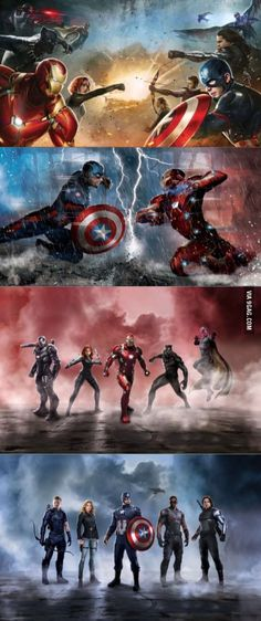 Official Civil War Promo Pictures Have Been Released