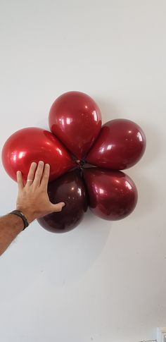 Custom colours for a burgundy 'blood red' variety. Red S, Color Combos, Charts, Balloons, Blood, Centerpieces, Burgundy, Colours, Fruit
