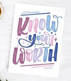 quote lettering by ig@lynnhavendesigns . . . . . . . #digitallettering #digitalart #goodtype #handlettering #lettering #moderncalligraphy #calligraphy #brushcalligraphy #handwritten #handmade #letteringart #watercolor #handlettered