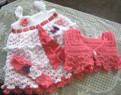 Free+Crochet+Baby+Dress+Patterns | Welcome Winter!: Crocheted Baby Dress (Savannah Belle)